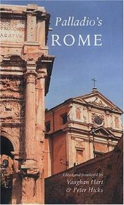 Palladio's Rome: A Translation Of Andrea Palladio's Two Guidebooks To Rome PDF Download