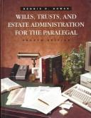 Download Wills, trusts, and estate administration for the paralegal