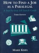 Download How to find a job as a paralegal