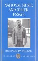 National music and other essays