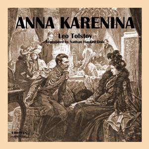 Anna Karenina (Dole translation)(6061) by Leo Tolstoy audiobook cover art image on Bookamo