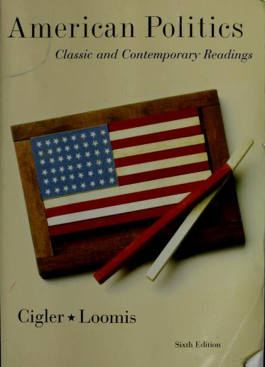 American Politics by Allan J. Cigler