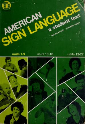 Cover of: American sign language   Dennis Cokely