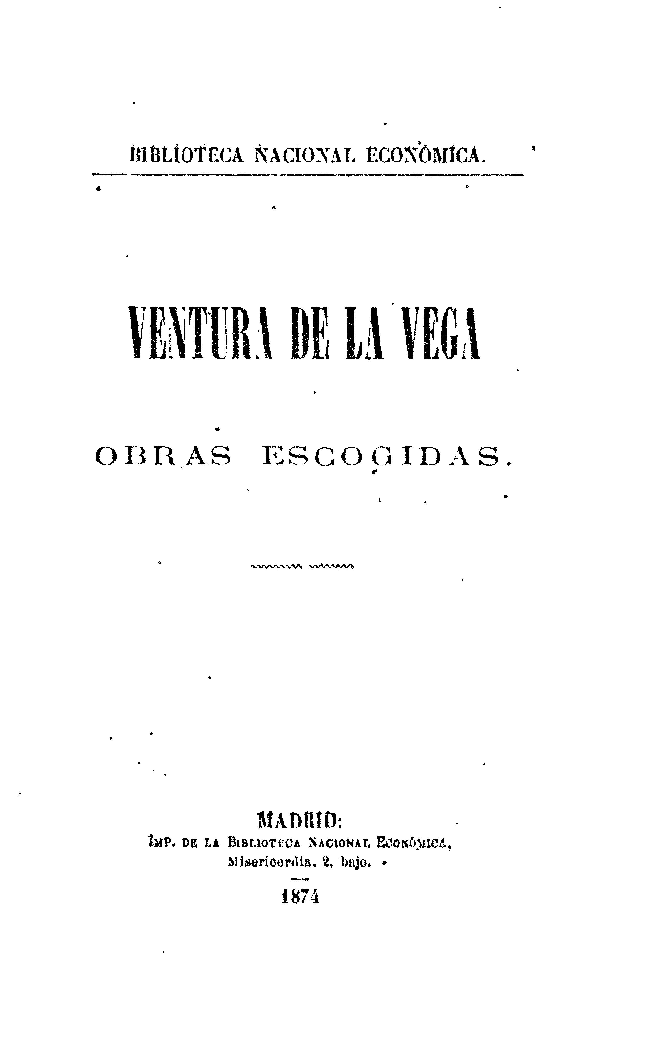 Cover of: Obras escogidas