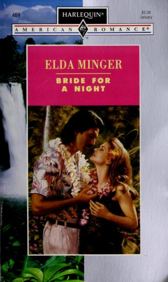 Cover of: Bride For A Night   Elda Minger