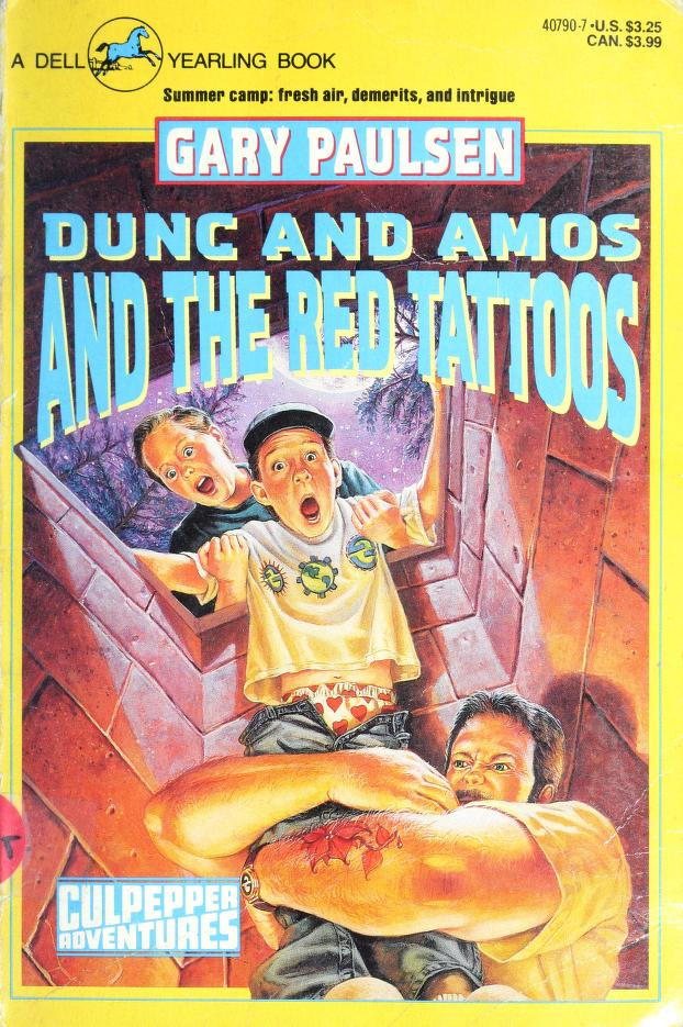 Dunc and Amos and the red tattoos by Gary Paulsen