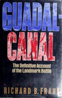 Cover of: Guadalcanal | Richard B. Frank