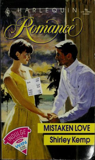 Cover of: Mistaken Love (Harlequin Romance #96) |