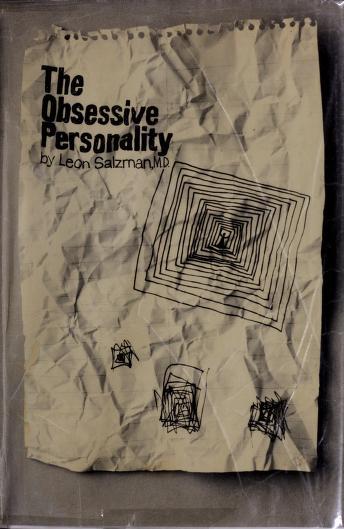 The obsessive personality by Leon Salzman