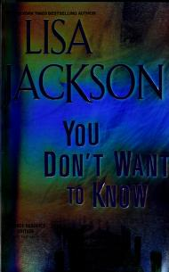 Cover of: you dont want to know |