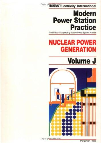 Nuclear Power Generation, Volume Volume J by P.B. Myerscough