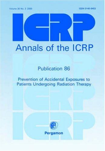 ICRP Publication 86 by ICRP