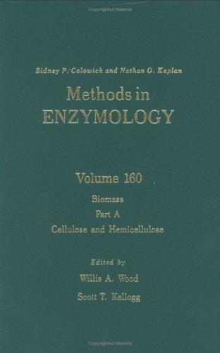 Methods in Enzymology, Volume 160: Biomass, Part A by Willis A. Wood