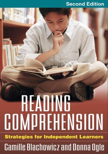Reading Comprehension, Second Edition by Donna Ogle