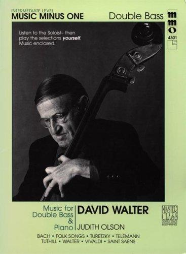 Music Minus One Double Bass by David Walter