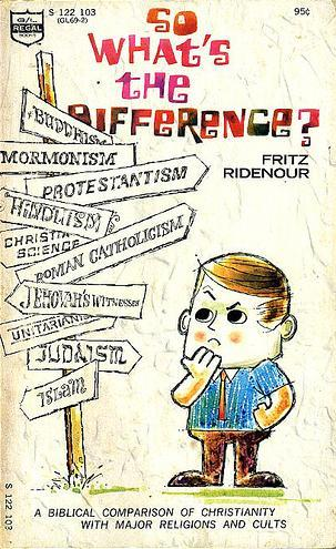 So, What's the Difference? by Fritz Ridenour