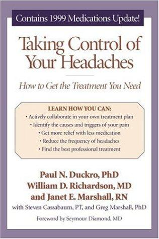 Taking control of your headaches by Paul N. Duckro