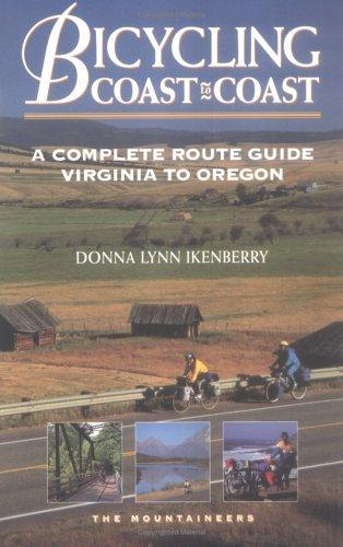 Bicycling coast to coast by Donna Lynn Ikenberry