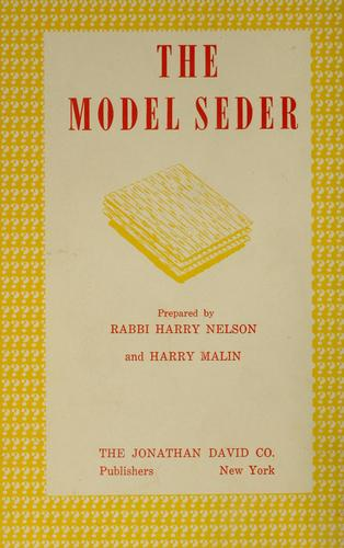The model Seder by Jews.