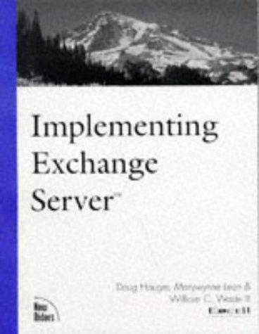 Implementing Exchange server by