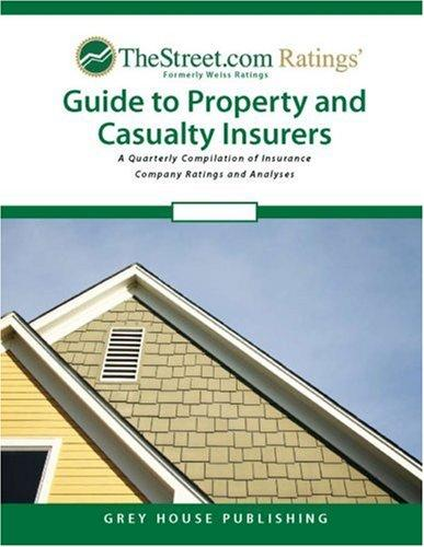 Weiss Ratings' Guide to Property and Casualty Insurers
