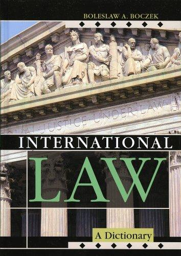 International law by Boleslaw Adam Boczek