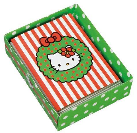 Hello Kitty Hello Christmas! Holiday Note Cards