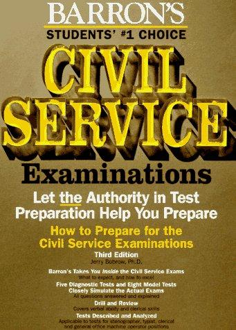 How to prepare for the Civil Service examinations for stenographer, typist, clerk, and office machine operator