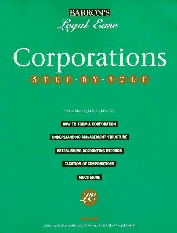 Corporations step-by-step by David Minars