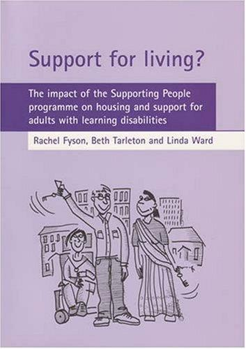 Support for living by Rachel Fyson, Beth Tarleton, Linda Ward