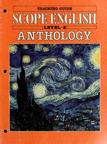 Scope English anthology : level two by edited by Katherine Robinson.