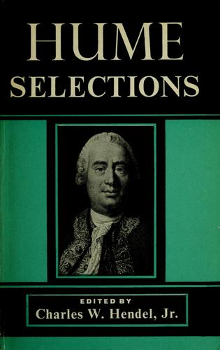 Selections by David Hume
