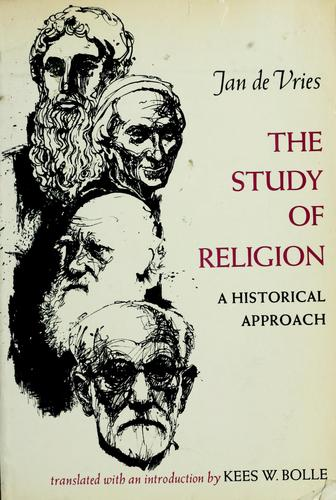 The study of religion by Vries, Jan de