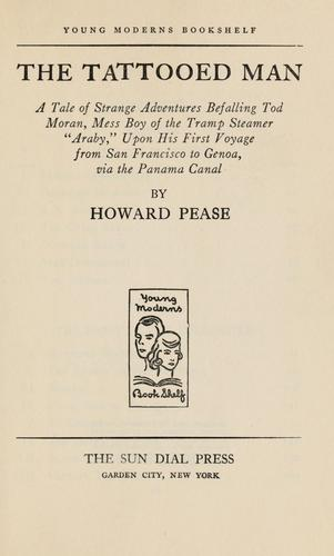 The tattooed man by Pease, Howard