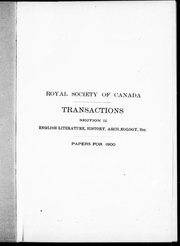 Some memories of Dundurn and Burlington Heights by Bourinot, John George Sir