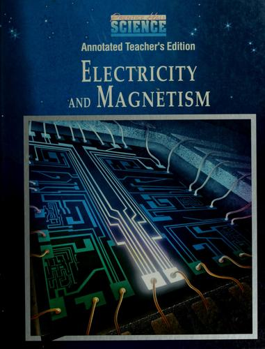Electricity and magnetism by
