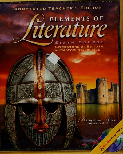 Elements of literature by Robert E. Probst