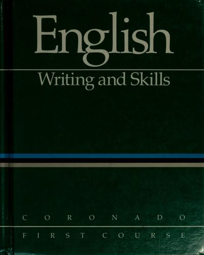 English by W. Ross Winterowd