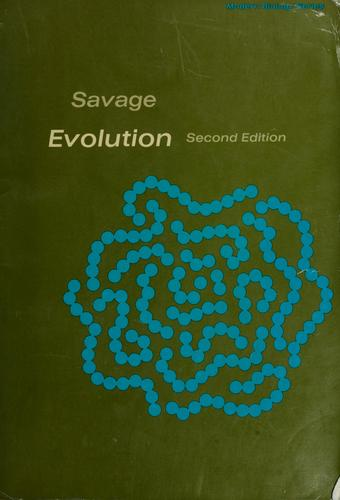 Evolution by Jay Mathers Savage