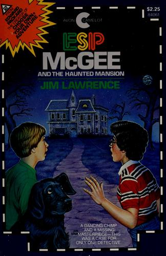 ESP McGee and the haunted mansion by James Duncan Lawrence