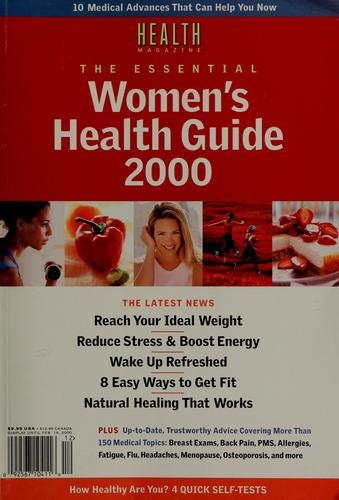 The essential women's health guide 2000 by
