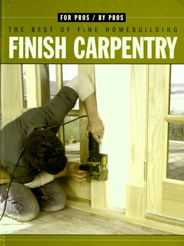 Finish carpentry by