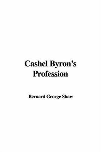 Cashel Byron's Profession by George Bernard Shaw