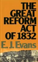 The great Reform Act of 1832