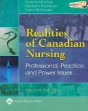 Realities of Canadian nursing by [edited by] Marjorie McIntyre, Elizabeth (Betty) Thomlinson, Carol McDonald.