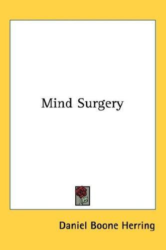 Mind Surgery