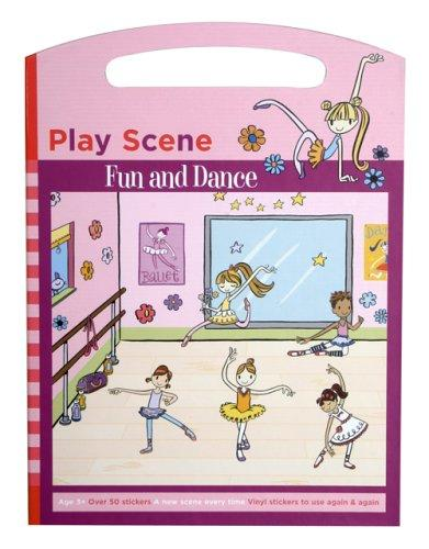 Fun and Dance Sticker Set Play Scene by Galison/Mudpuppy