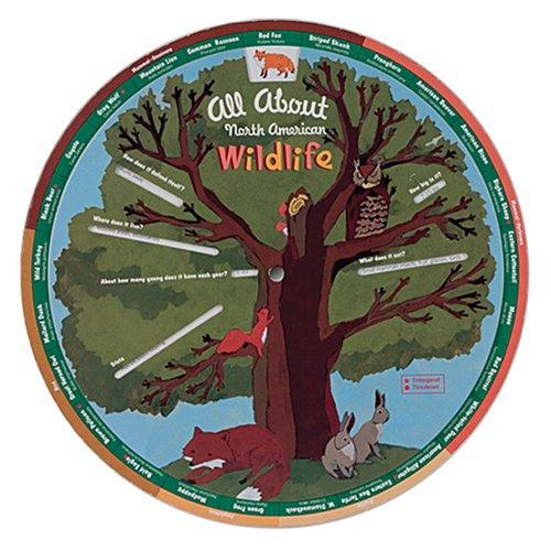 North American Wildlife Learning Wheel by Galison/Mudpuppy