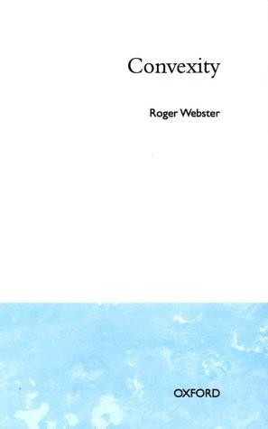Convexity by Webster, Roger