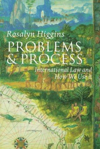 Problems and process by Rosalyn Higgins